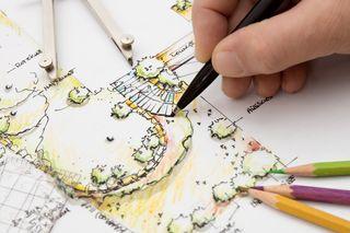 Garden draw